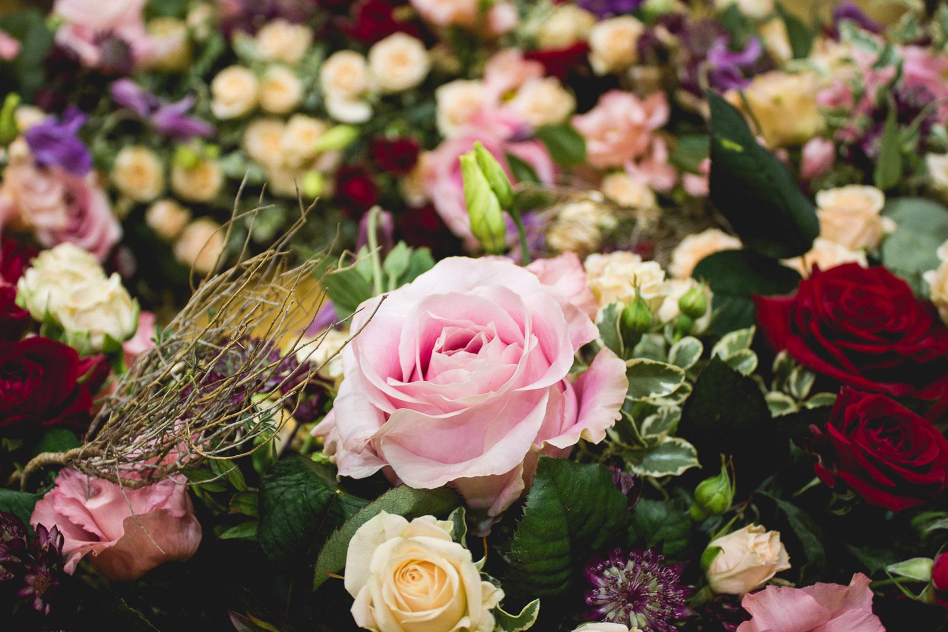 flores en Toledo