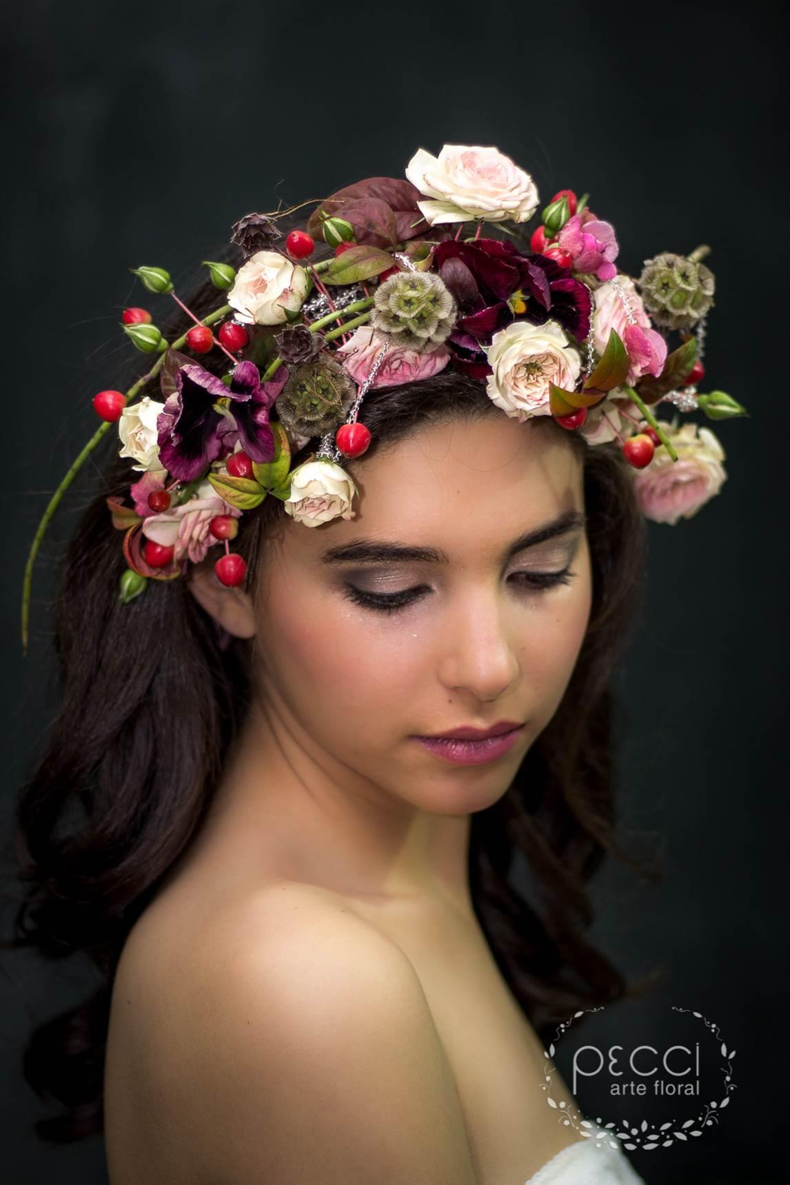 Vestir con flores